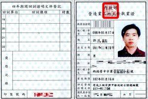 工地主任執業證B
